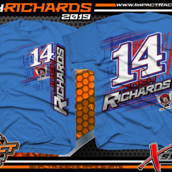 Josh-Richards-Lucas-Oil-Dirt-Late-Model-Clint-Bowyer-Racing-Iris-Crew-Shirt