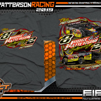 Judge-Patterson-Mart-Patterson-Chris-Patterson-South-Carolina-Dirt-Late-Model-Racing-Shirts-Dark-Heather