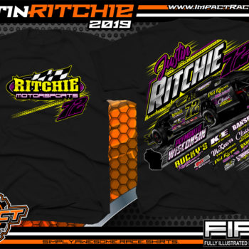 Justin-Ritchie-USMTS-Modified-Racing-T-Shirts-Wisconsin-Black