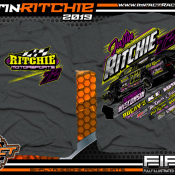 Justin-Ritchie-USMTS-Modified-Racing-T-Shirts-Wisconsin-Dark-Heather