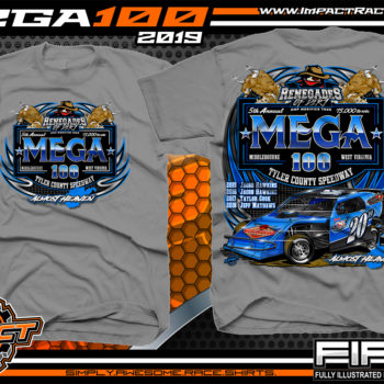 Mega-100-Renengades-of-Dirt-Event-T-Shirts-Dirt-Track-Racing-Shirts-Tyler-County-Speedway-Almost-Heaven-West-Virginia-Racing-T-Shirts-Charcoal