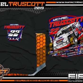 Michael-Truscott-Wissota-Modified-T-Shirts-Michigan-Black