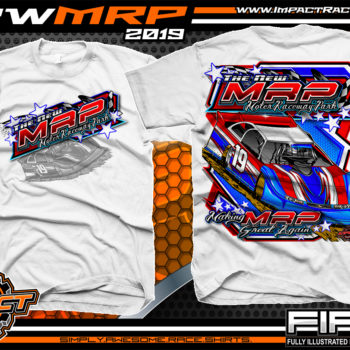 Moler-Raceway-Park-Race-Track-Shirts-Dirt-Racing-TShirts-White