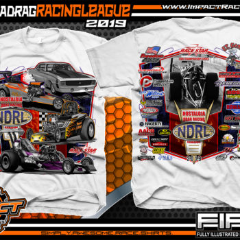Nostalgia-Drag-Racing-League-T-Shirts-NDRL-Championship-Series-T-Shirts-White