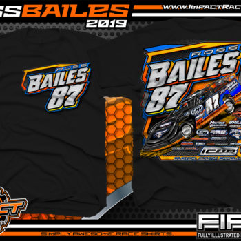 Ross-Bailes-BWRC-Icon-House-Car-Lucas-Oil-Dirt-Late-Model-Series-T-Shirts-South-Carolina-Black