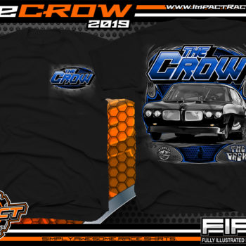 The-Crow-Midwest-Street-Cars-OKC-Oklahoma-405-Big-Chief-Street-Outlaws-T-Shirts
