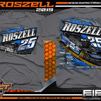 Tim-Roszell-Dirt-Racing-T-Shirt-Lucas-Oil-Dirt-Late-Model-Racing