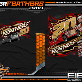 Trever-Feathers-BWRC-Icon-Dirt-Late-Model-Racing-Shirts-World-of-Outlaws-Late-Model-Virginia-Black