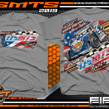 United-States-Modifed-Touring-Series-Racing-Tshirts-Dirt-Racing-Shirts-USMTS-American-Horsepower