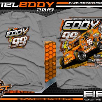 Daniel Eddy Dirt Racing Shirts Modified Racing T-Shirts Gravel
