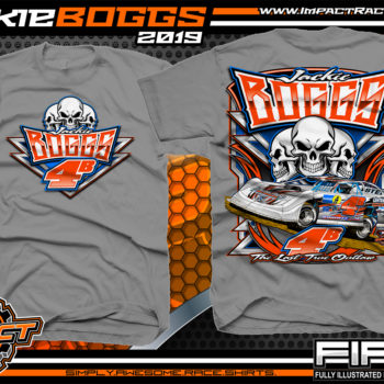 Jackie Boggs Lucas Oil Dirt Late Model Racing Series Kentucky Dirt Track Racing T-Shirt Gravel