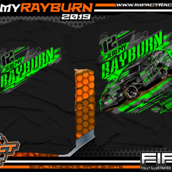 Jeremy Rayburn UMP Modified Renegades if Dirt Modifed Dirt Racing Series Lucasville Ohio Black